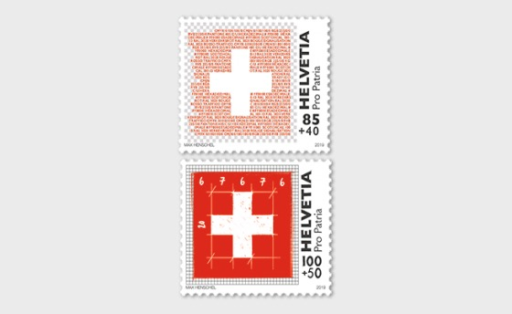 Pro Patria - The Swiss Flag - Set Mint - Set