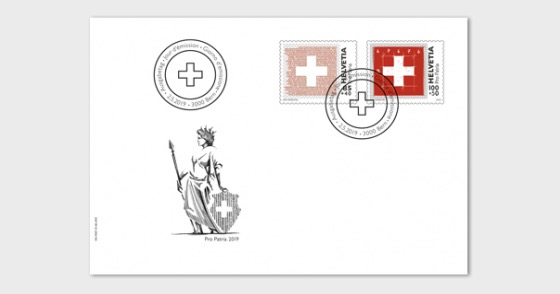 Pro Patria - The Swiss Flag - FDC Set - First Day Cover