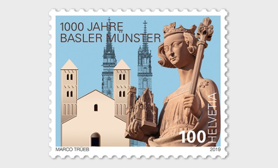 1000 Years Basel Cathedral - Set Mint - Set