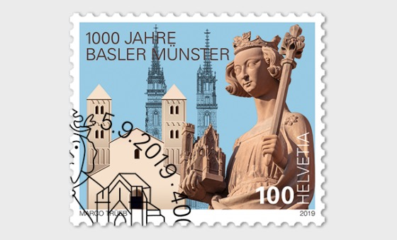 1000 Years Basel Cathedral - Set CTO - Set CTO