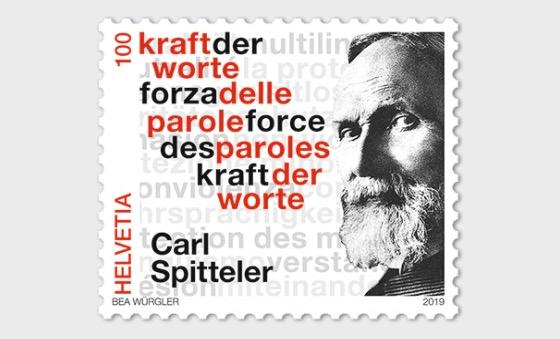Carl Spitteler 100 Years Nobel Prize in Literature 1919–2019 - Set Mint - Set