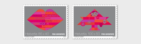 Pro Juventute – 30 Years Children's Rights - Set Mint - Set