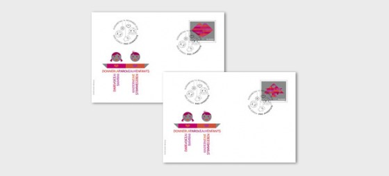 Pro Juventute – 30 Years Children's Rights - FDC Single Stamp - First Day Cover single stamp