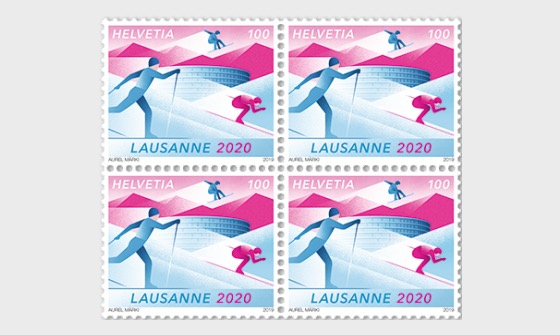Winter Youth Olympic Games 2020 - Block of 4 Mint - Block of 4