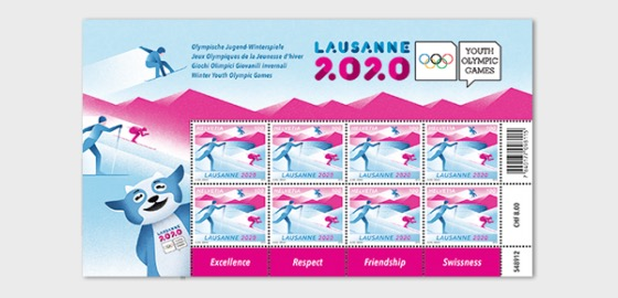 Winter Youth Olympic Games 2020 - Sheetlet 8 Stamps Mint - Sheetlets