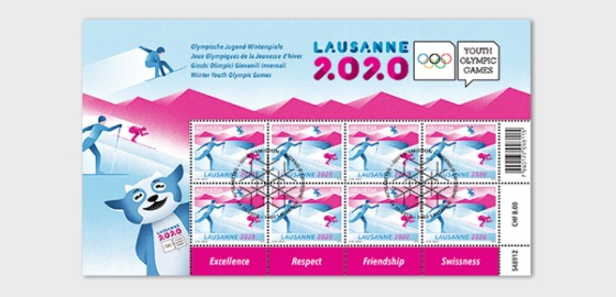 Winter Youth Olympic Games 2020 - Sheetlet 8 Stamps CTO - Sheetlets CTO