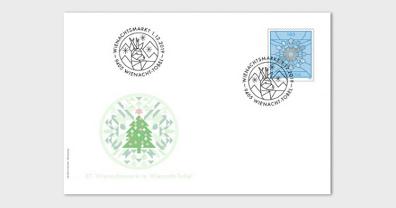 Christmas 2019 - Special Cover C6 - Snowflake - Collectibles