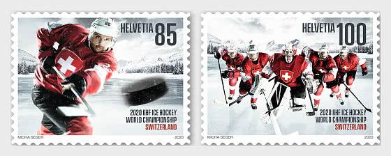 Ice Hockey World Championship in Switzerland - Set Mint - Set