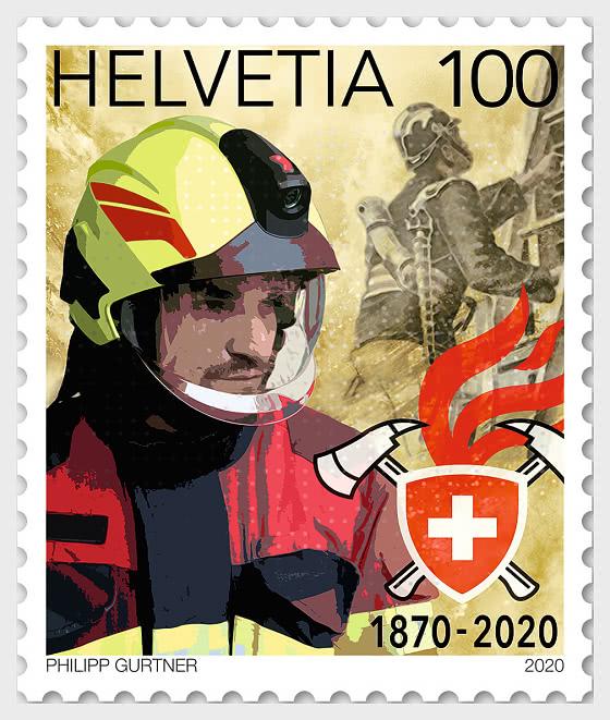 150 Years Swiss Fire Brigade Association - Mint - Set