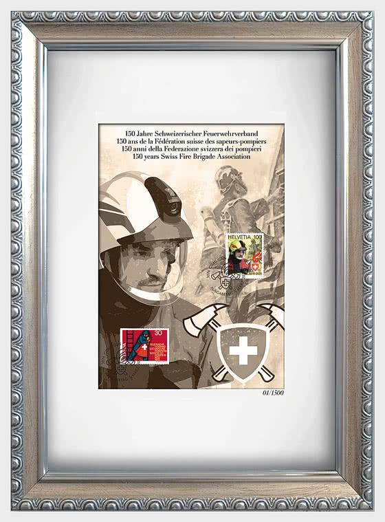 150 Anni della Federazione Svizzera dei Pompieri - Collezionabile