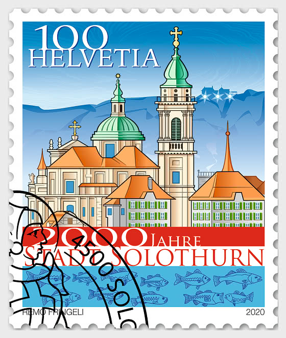 2000 Years Solothurn Town - CTO - Set CTO