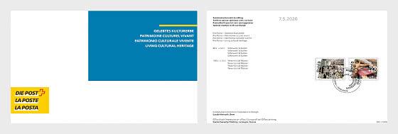 Pro Patria – Living cultural heritage - Collezionabile CTO