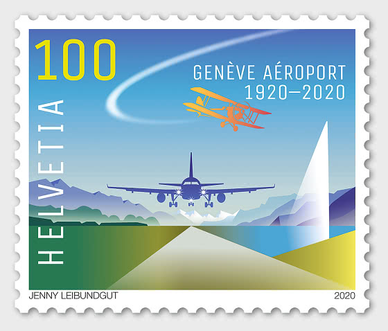 100 Years Geneva Airport - Set Mint - Set