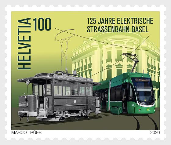 125 Years Basel Electric Tram - Set Mint  - Set