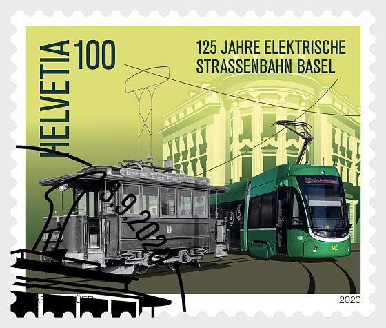 125 Years Basel Electric Tram - Set CTO - Set CTO