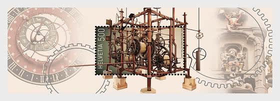 Clockmaking - Mint - Miniature Sheet