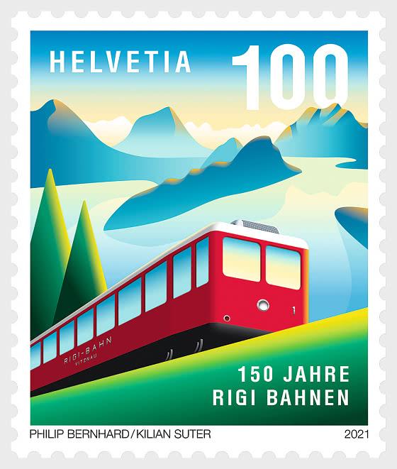 150 Years of Rigi Railways - Set Mint - Set