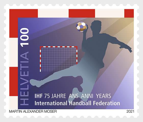 75 Anni della Federazione Internazionale di Pallamano (IHF) - Serie
