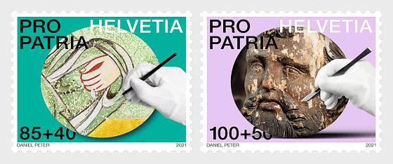 Pro Patria − Craftsmanship And Cultural Heritage - Set Mint - Set