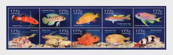Curasub: Fish - Souvenir Sheet