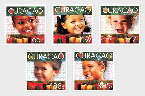 December Stamps 2014 - Set
