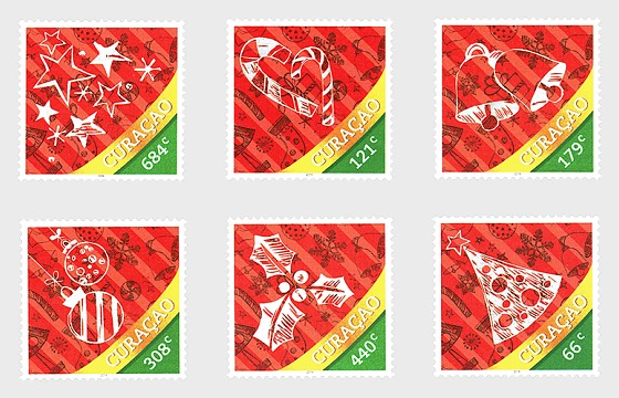 December Stamps 2016 - Set