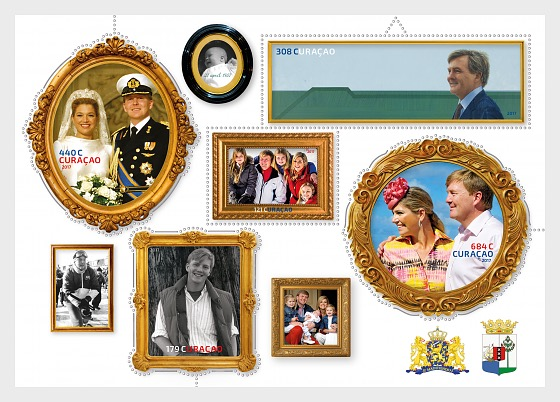 King Willem-Alexander 50 Years - Miniature Sheet