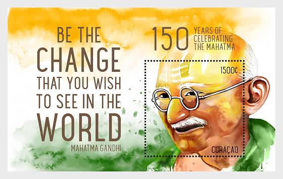 Gandhi - Miniature Sheet