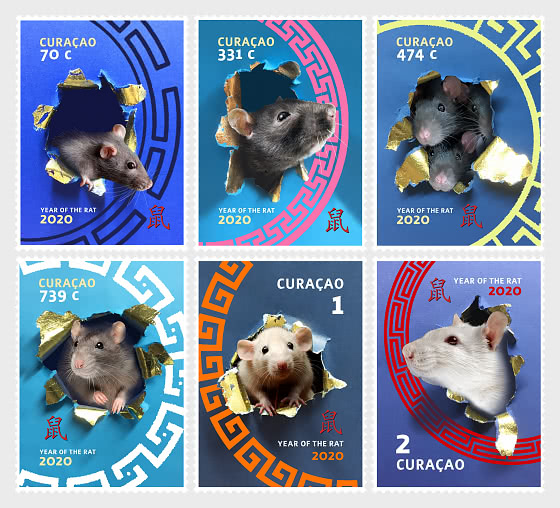 Chinese New Year 2020 - Year of the Rat - Set