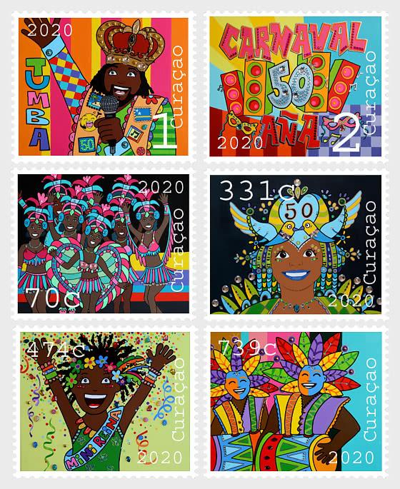 Commemorazione della 50a Edizione del Carnevale di Curacao - Serie