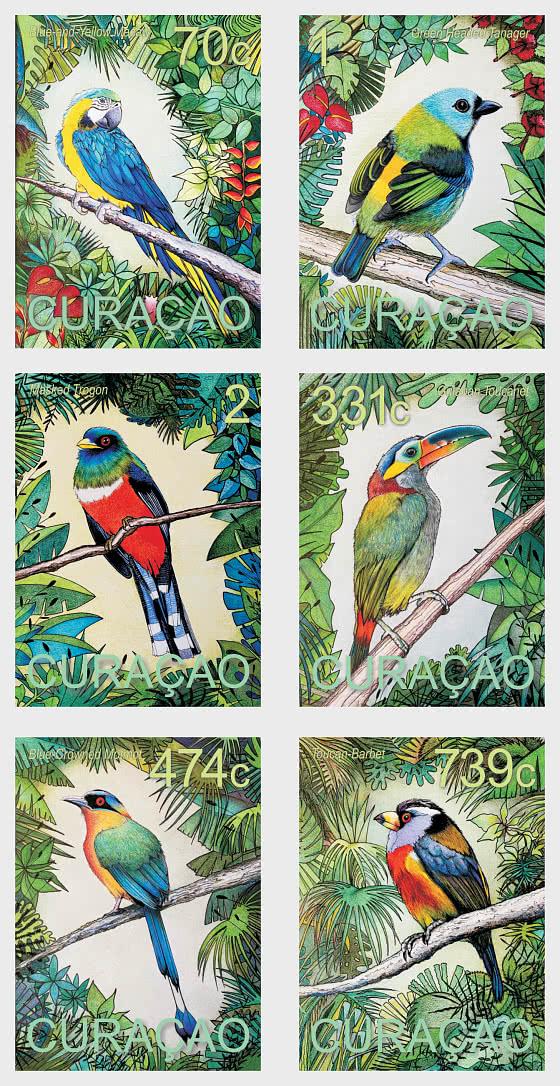 South American Birds 2020 - Set