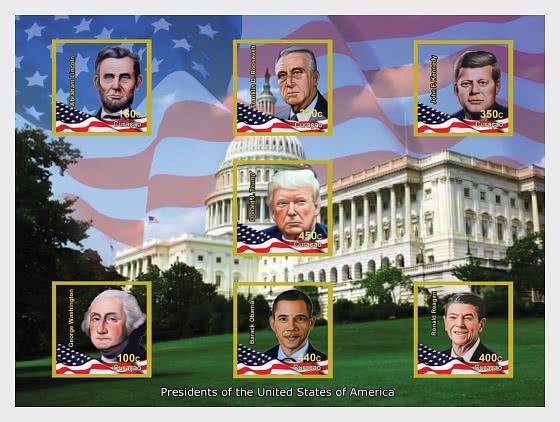 Presidenti degli Stati Uniti - Foglietti
