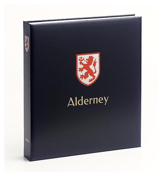 Alderney I 1983-2015 - Luxe Stamp Album