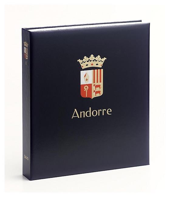 Andorra (Spain) 1928 -  - Luxe Stamp Album