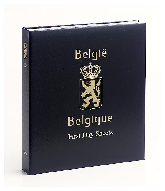 Belgium first day sheets - Luxe Stamp Album