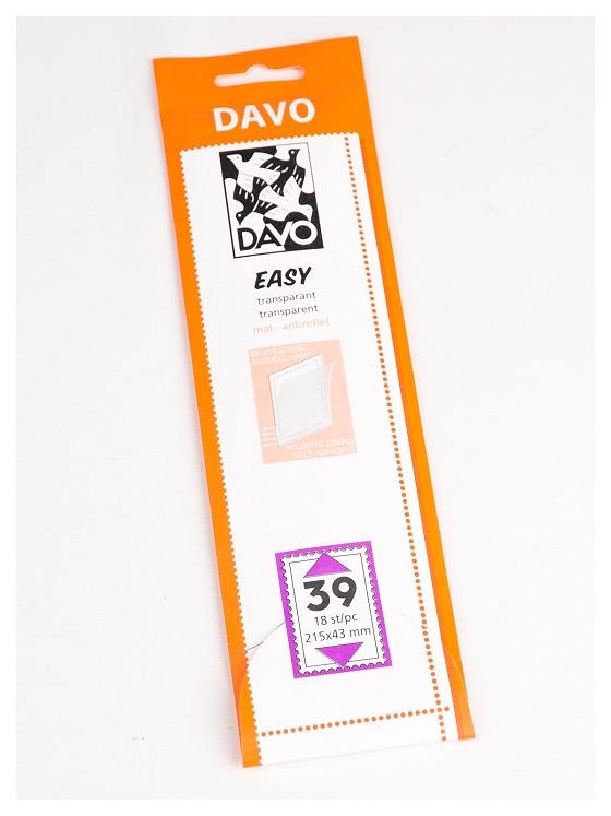 T39 (215 x 43) 18 pcs. - Easy Mounts Transparent