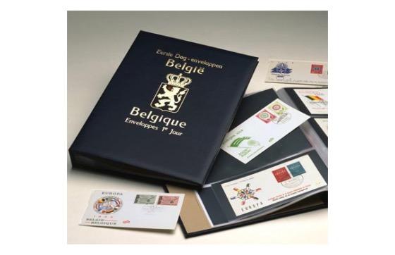 Belgien - Davo Standard Album FDC