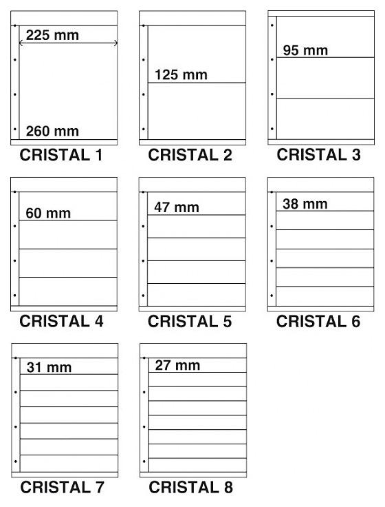 Cristal assorted (8) - Kosmos