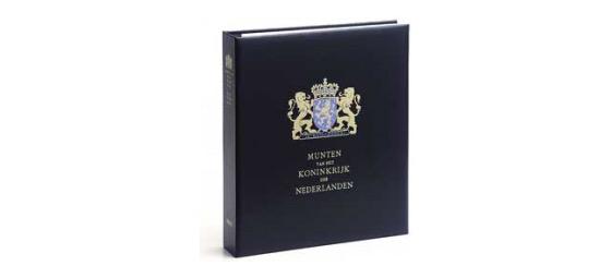 King Willem Alexander (Black/White) - Luxe Münze Album