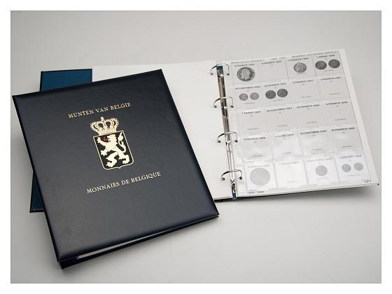 I (Leopold I & II) - Luxe coin Album