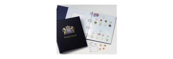 Euro Países Bajos, Holanda Queen Beatrix - Luxe coin Binder