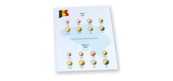 Belgien 2007/2010 - Luxe Münzenergänzung