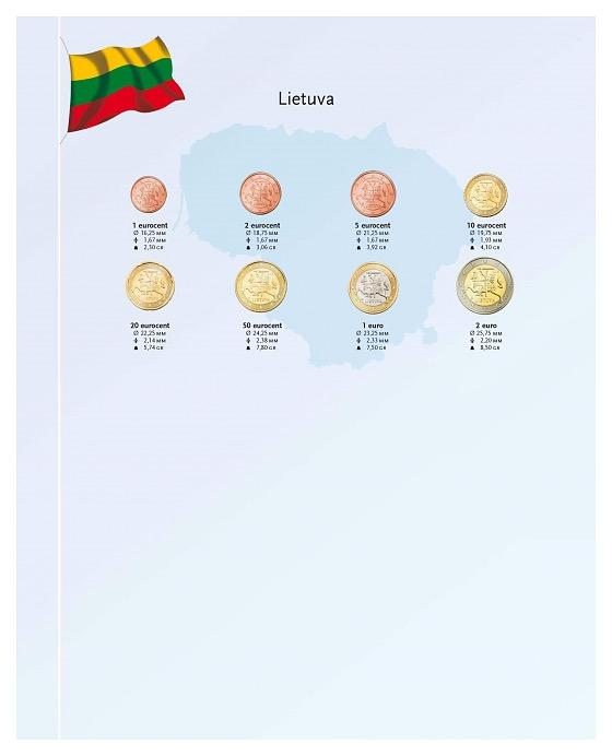 Litouwen 2015 - Luxe Münzenergänzung