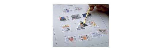 Luxe index stamp album overseas terr. VII Netherl. Ant. 2015-2017 - Album