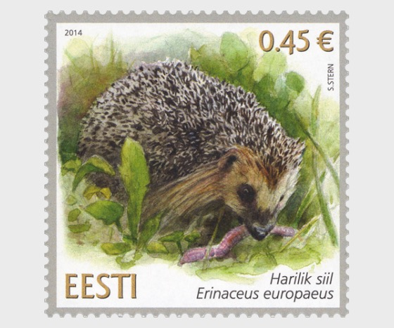 Estonian Fauna- Hedgehog - Set