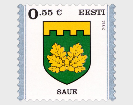 Definitive Stamp. Saue - Set