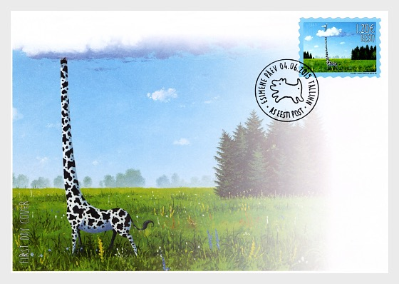 Different kind of Estonia - First Day Cover