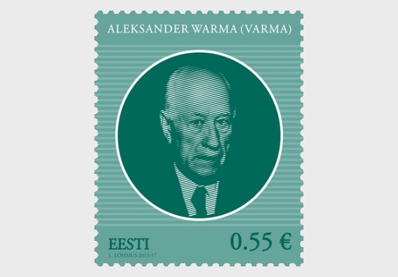 Heads of state of the Republic of Estonia - Aleksander Warma - Set