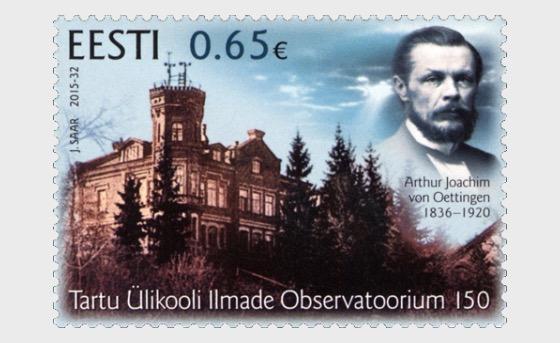 Universidad de Tartu Observatorio de Meteorología 150 - Series