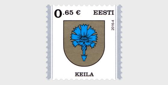 Definitive Stamp - Keila - Set